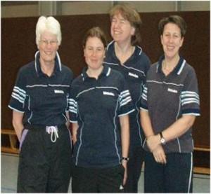 v.L.n.R.: Kirsten, Annette, Doris, Maike
