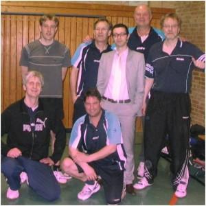 v.L.n.R.: Chrsitian, Torsten, Frank, Uwe, Arco, Wolfgang, Andreas