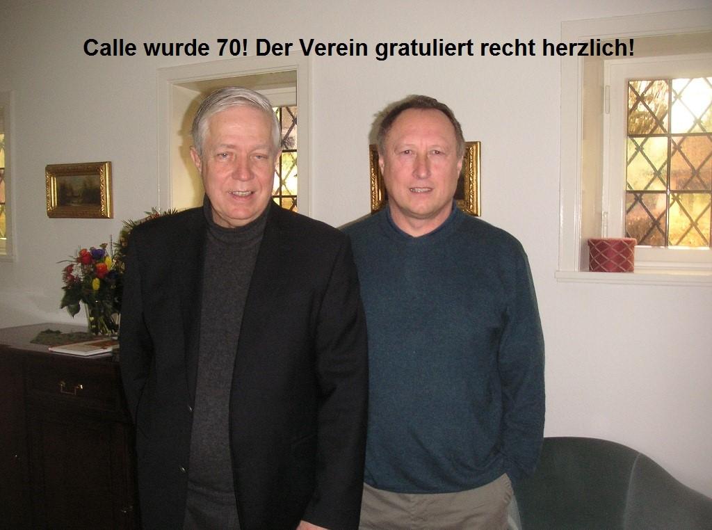 Calle Bödiker wird 70