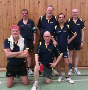 v.L.n.R.: Wolfgang, Bodo, Werner, Klaus, Arco, Peter. Es fehlt: Thorsten